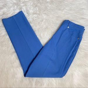 St. John Sport Trouser Pants Size 8 Periwinkle